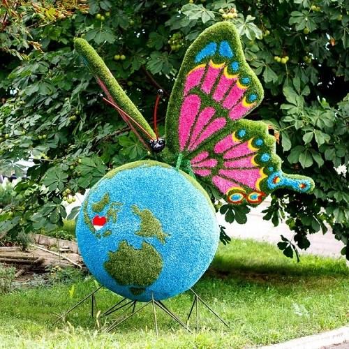 Ториарий Бабочка для дачи и загородного дома
