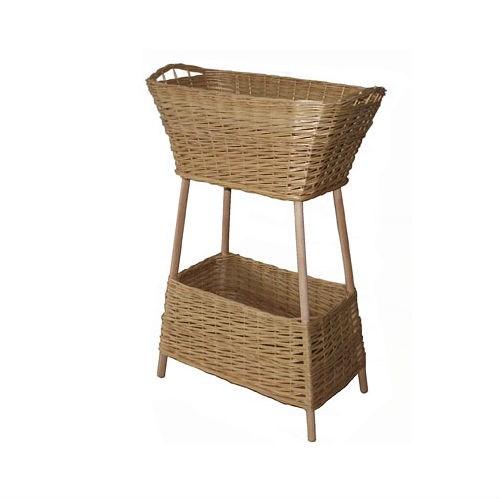 Плетеная корзина для продуктов