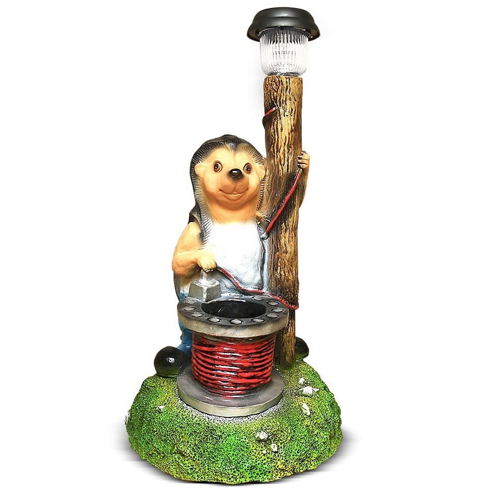 Садовый светильник Ежик