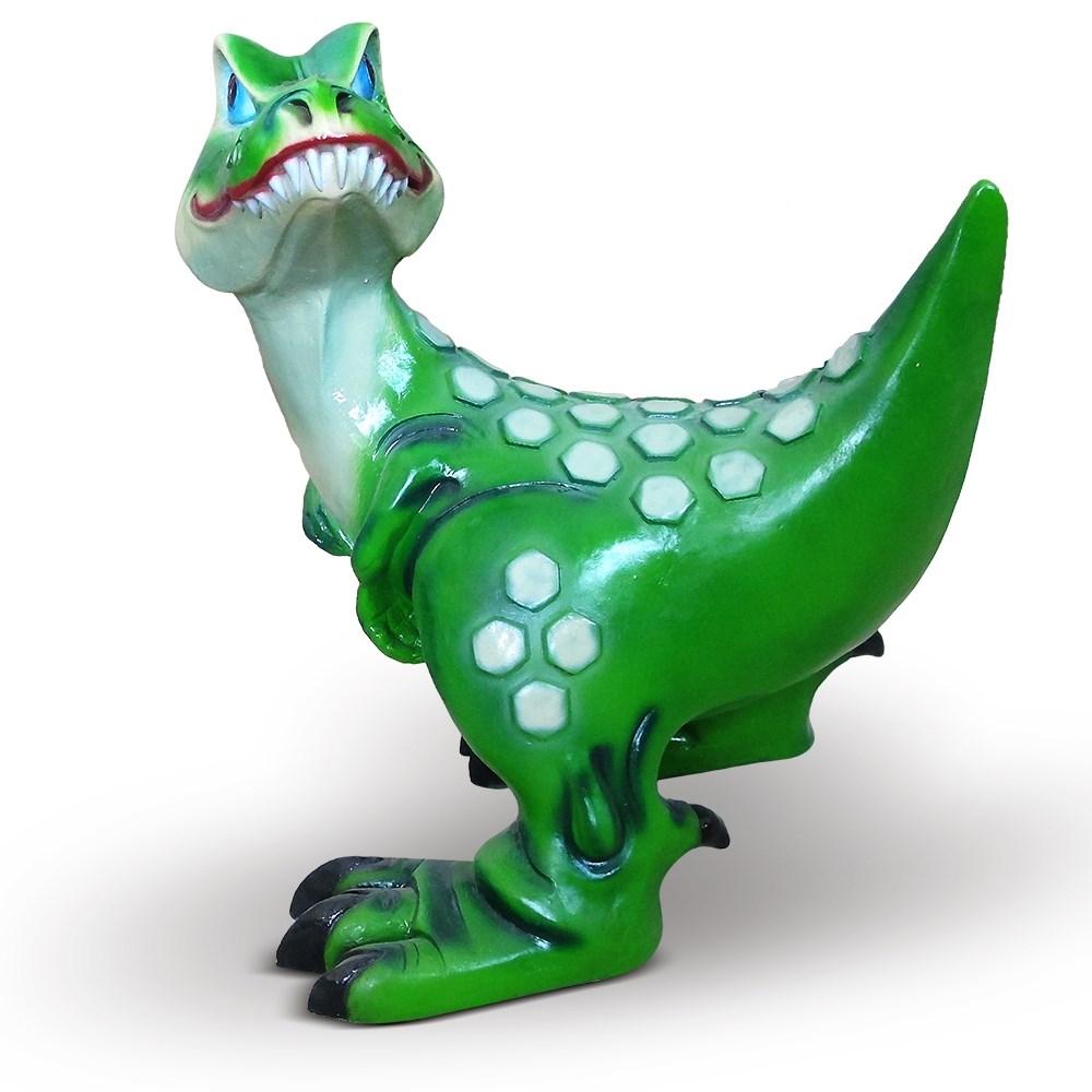 Садовая фигура Динозавр Зубастик