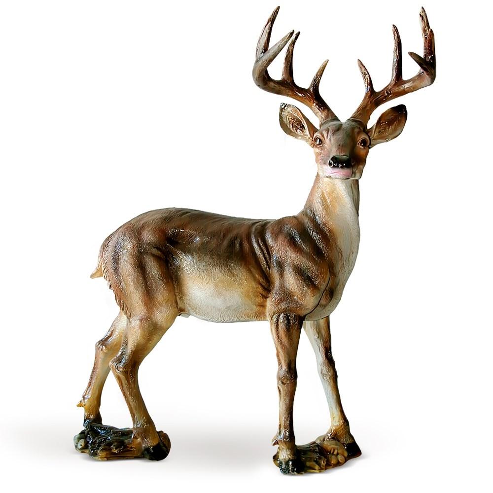 Парковая скульптура олень