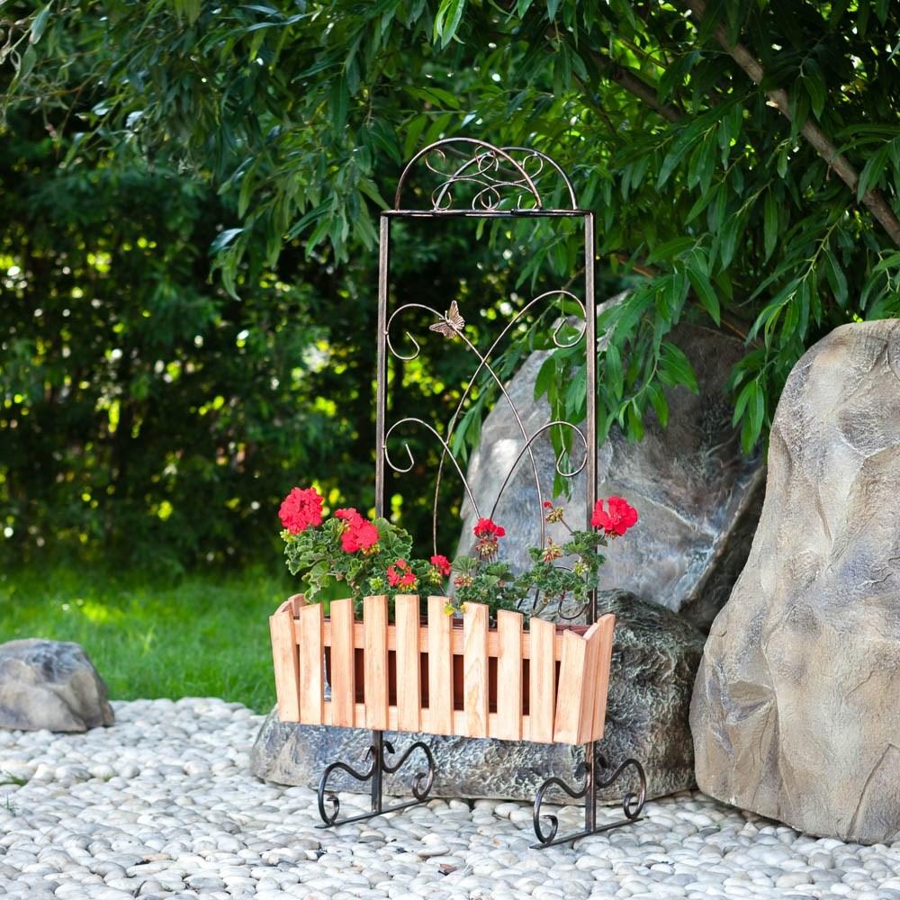 Садовая подставка для цветов