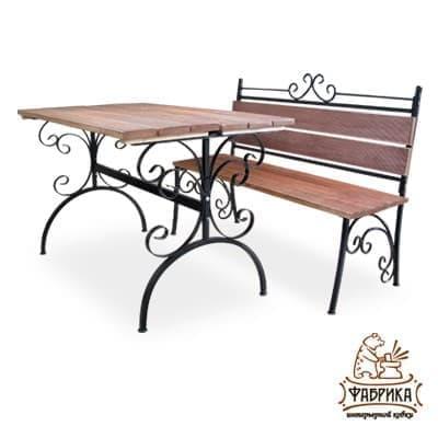 Мебель деревянная для сада