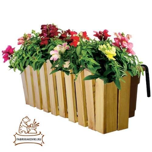 Подставка для цветов на балкон - фото 6296