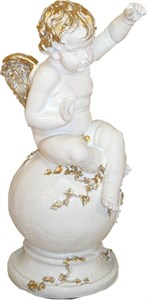 Скульптура Ангел F03035WG