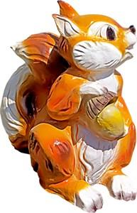 Садовая фигура Белка с желудем F07269