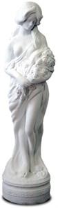 Скульптура Девушка с цветами F03003 WM