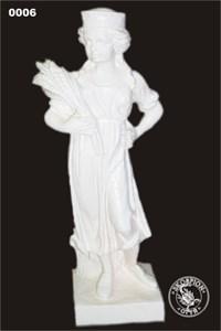 Садовая скульптура Девушка