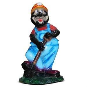 Сказочная фигура Крот с лопатой