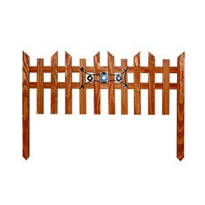 Деревянный секционный забор