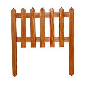 Секционный забор из дерева