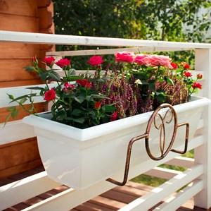 Подвесной держатель для цветов