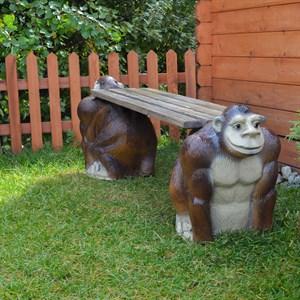 Садовая скамейка Обезьяны