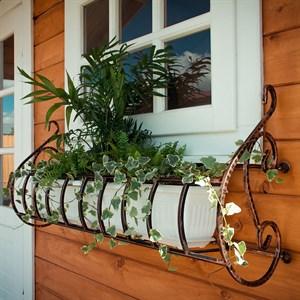 Подставка для балконных цветочных ящиков