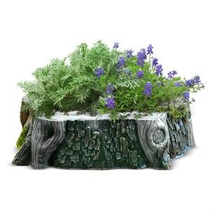Кашпо для цветов Пень