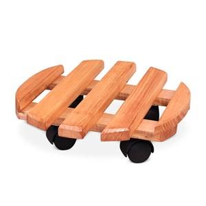 Напольная подставка на колесах