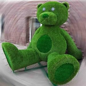 Топиарная фигура медвежонок