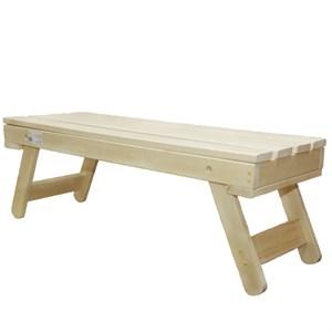 Скамейка для бани складная