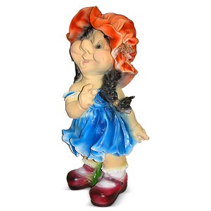 Садовая фигура Фигурка девочки