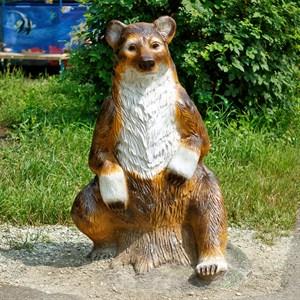 Садовая фигура медведица