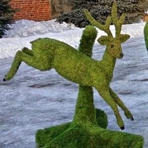 Садовая фигура косуля для загородного дома