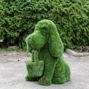 Топиарная фигура собачка с корзинкой фото с размерами