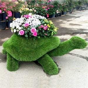 Топиарий черепаха для дачи и сада