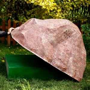 Декоративный камень на септик