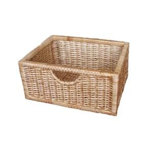 Плетеные корзины ящики