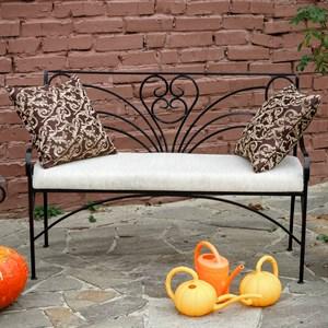 Кованый диван для дачи