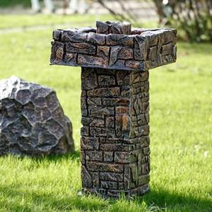 Садовый фонтан Камень фото