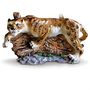 Садовая фигура Леопард на дереве