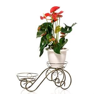 Подставка на два цветка