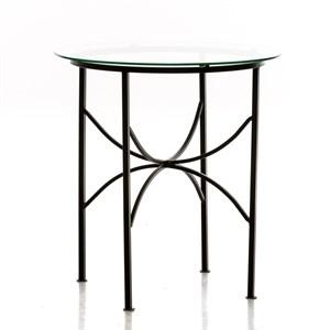 Кованый стол для дачи