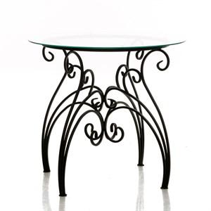 Садовый стол из металла