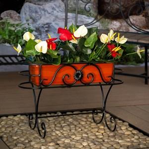 Кованая подставка для цветов 12-401