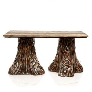 Стол для дачи Пень