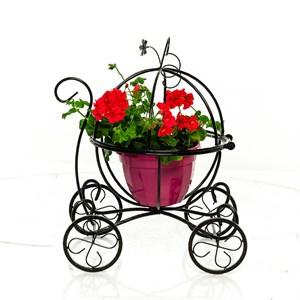 Подставка для цветов карета 51-300