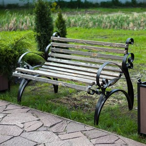 Скамейка для дачи 881-15R