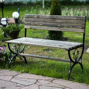 Деревянная скамейка за 6100 руб.