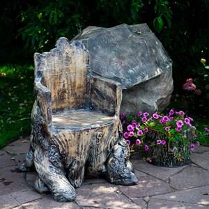 Кресло Пень для сада