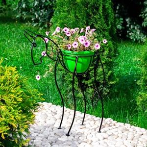 Металлическая стойка для цветов