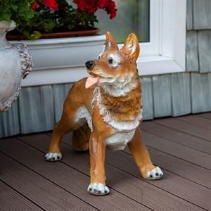Фигура для сада собака