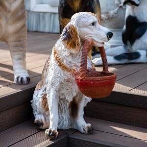 Фигура садовая Собачка