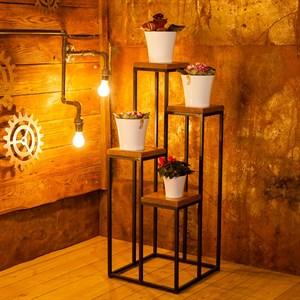 Подставка для цветов лофт
