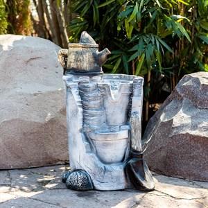 Декоративный фонтан для сада U08388