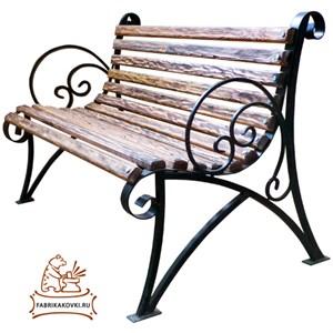 Садовая скамейка