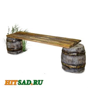 Скамейка декоративная Боченок