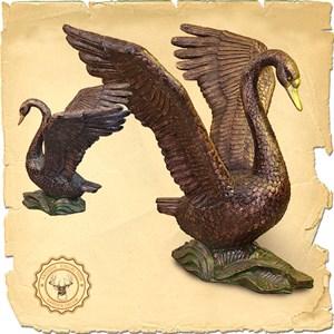 Скульптура Лебедь