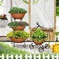Садовые подставки под цветы